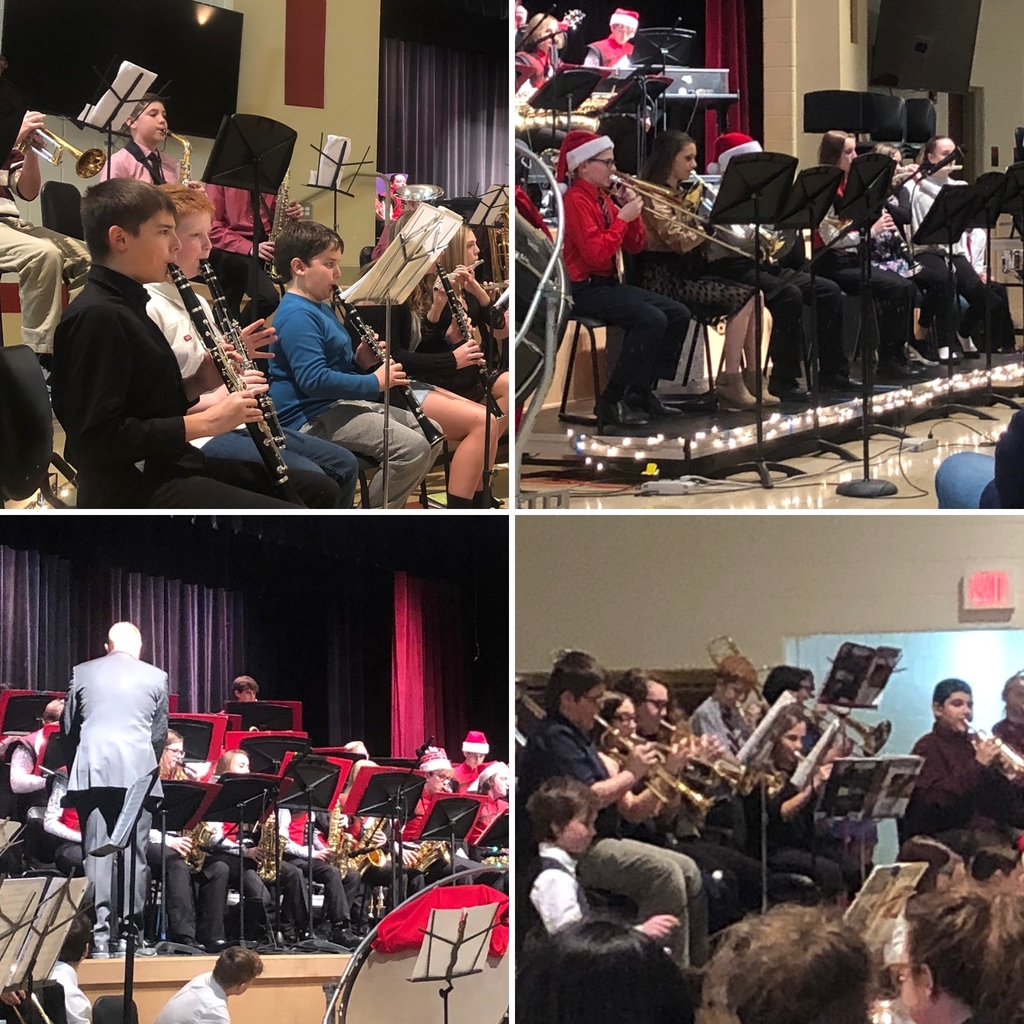 Jazz, Sixth, Seventh, & Eighth Grade Bands - Holiday Concert