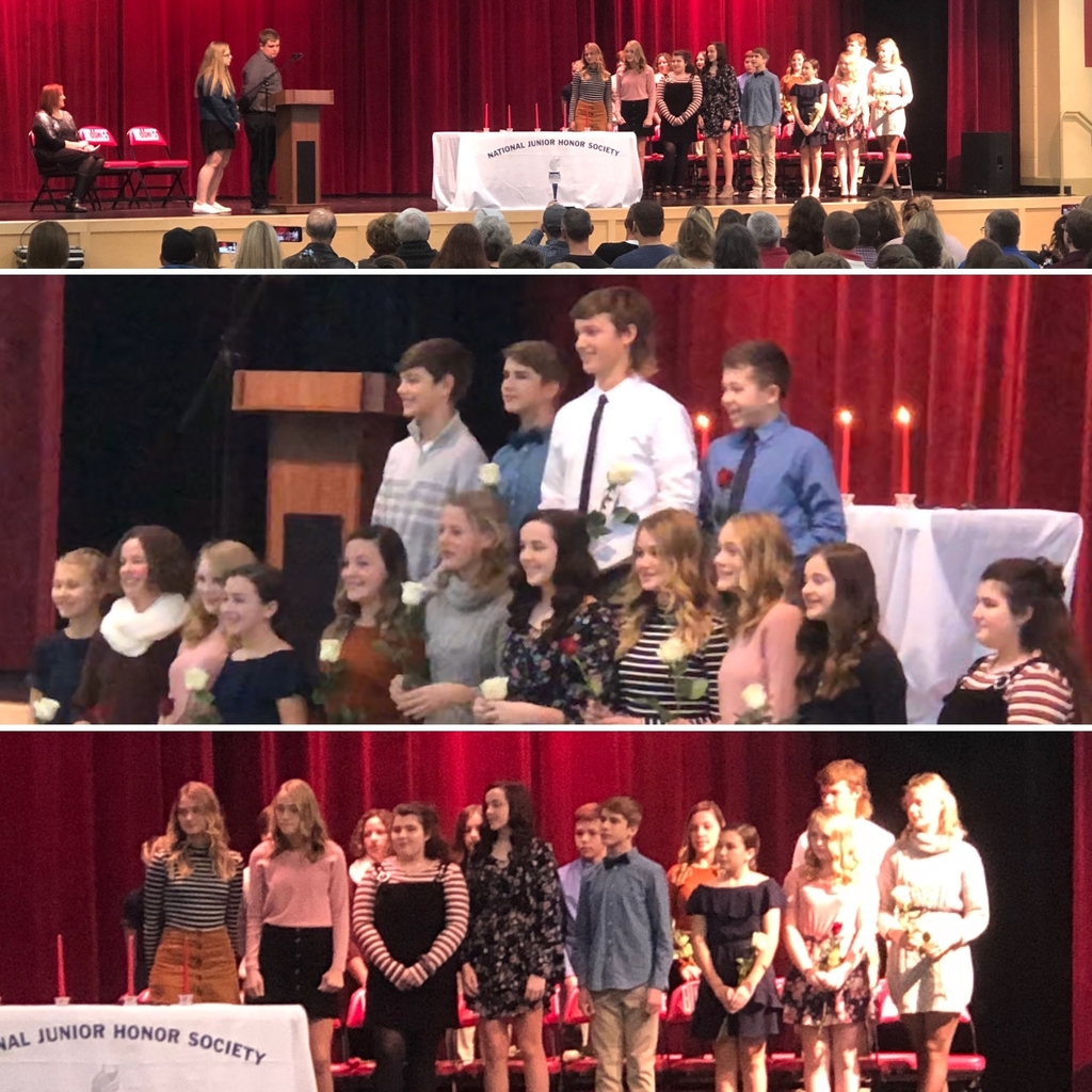 NJHS Induction 12-18-19