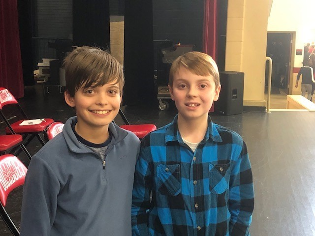 Ben Iddings & Joseph Hastings Geography Bee 12.18.19