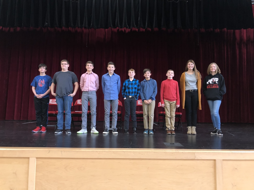 Geo Bee contestants