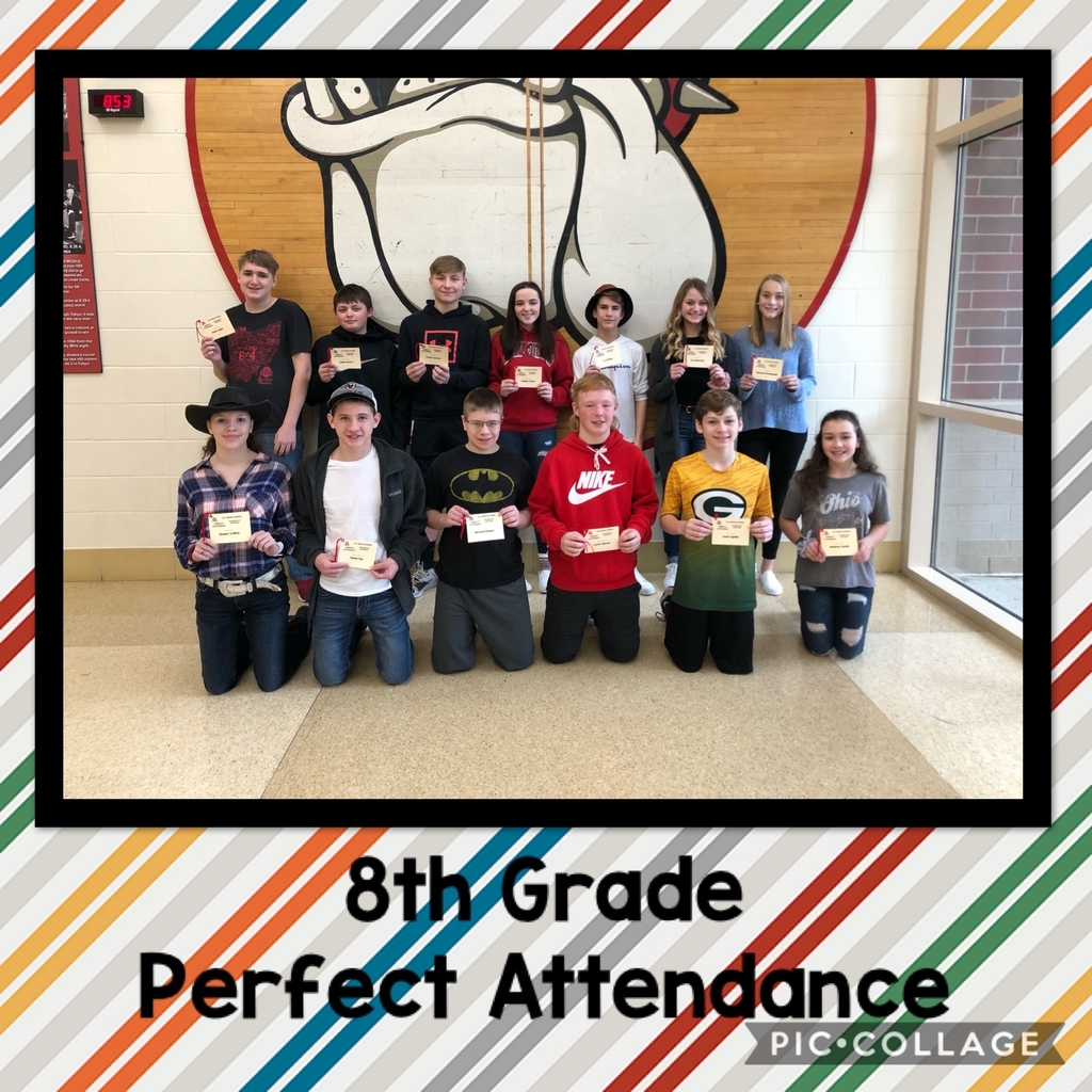 8th Perfect Attendance