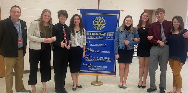 Rotary Four-Way Speech Competitors - 2.24.2020