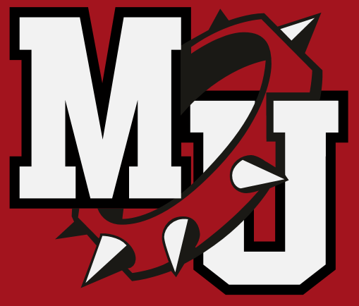 Milton-Union HS Logo Red Background