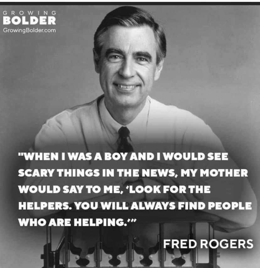 "Fred Rogers - ""Helpers"" Quite"
