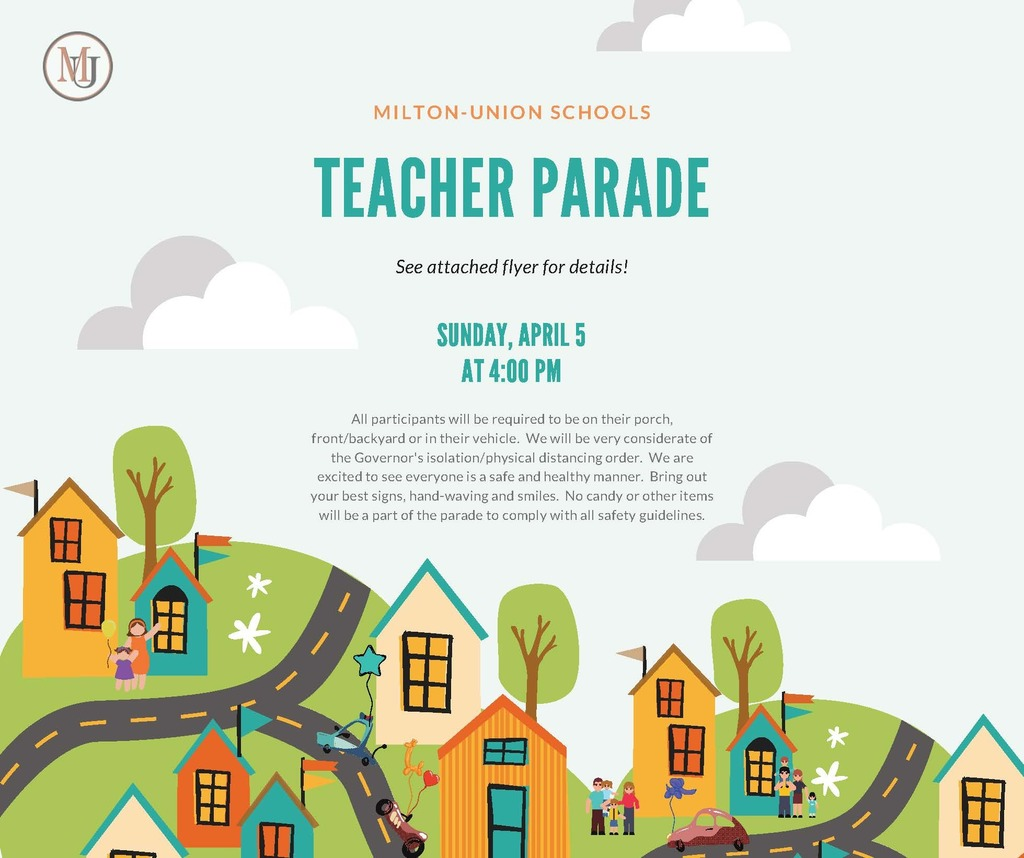 teacher parade