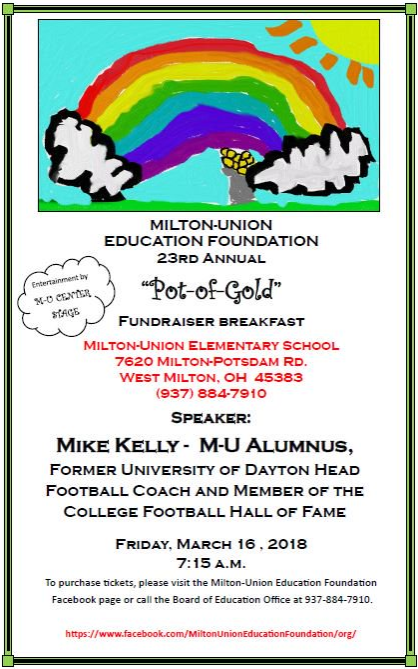 Pot-of-Gold Fundraiser Poster
