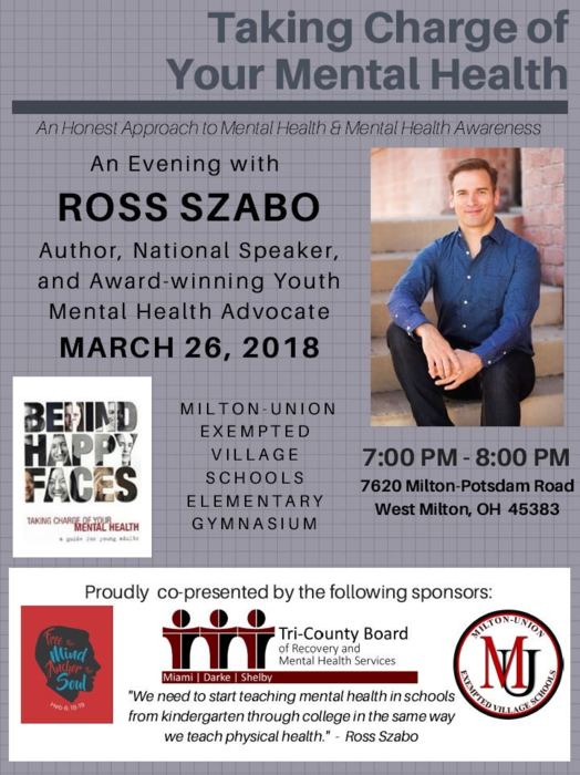 Ross Szabo - Event Poster