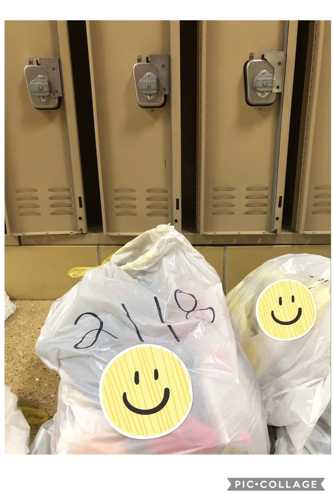 Locker contents
