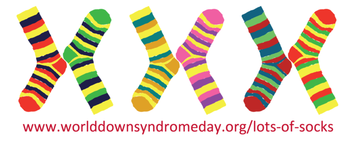 Crazy Socks for World Down Syndrome Day