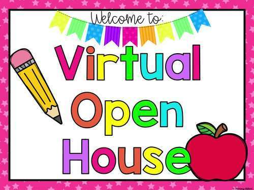 virtual Open House sign