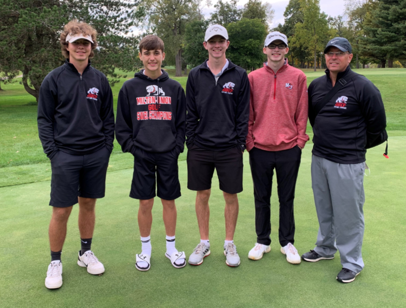 Milton-Union Boys Golf Team