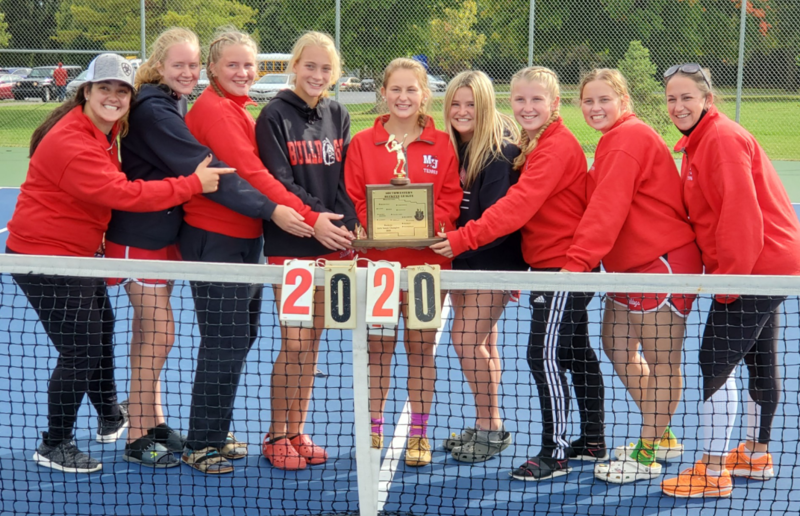 Milton-Union Girls Tennis Team